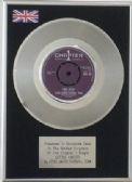 LEEDS UNITED FOOTBALL TEAM -  Platinum Disc 7inch - LEEDS UNITED